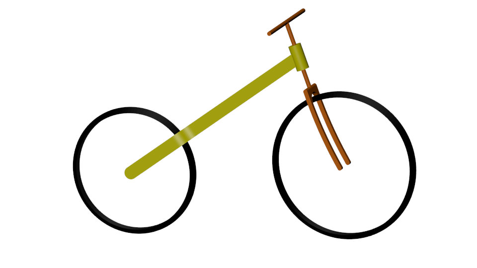 Linearized bicycle image
